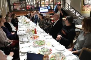 24.10.2018 Warszawa , pl Bankowy . Restauracja Otto Pomperi . Promocja wloskiego regionu Trentino dla Projekt 77 . Fot. Slawomir Kaminski / Agencja Gazeta