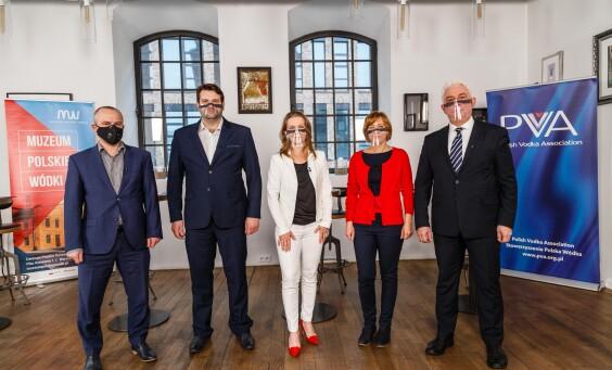 Warszawa 03.02.2021 Konferencja - Muzeum Polskiej Wodki. Fot.Krzysztof Zuczkowski